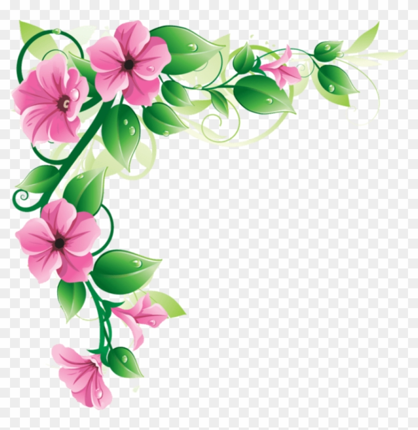 Flowers Borders Png Transparent Flowers Borders Images