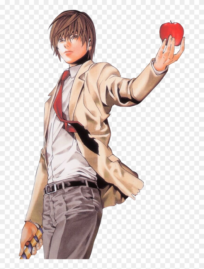 Photo V2 - Light Yagami Death Note Cosplay Clipart #2400279