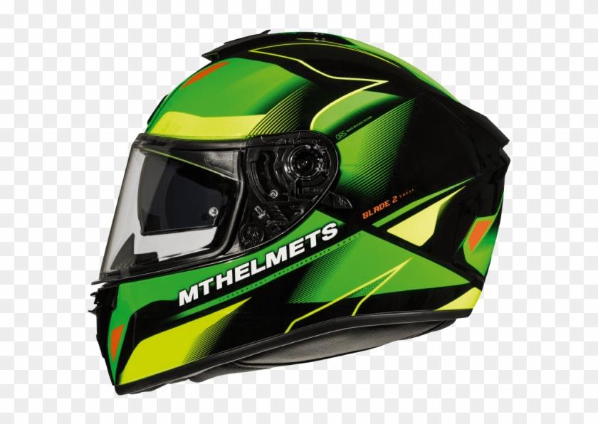 Casco Integral Mt Blade 2 Sv Fugue G3 Verde Flúor Brillo - Mt Helmets Blade 2 Sv Clipart #2400494