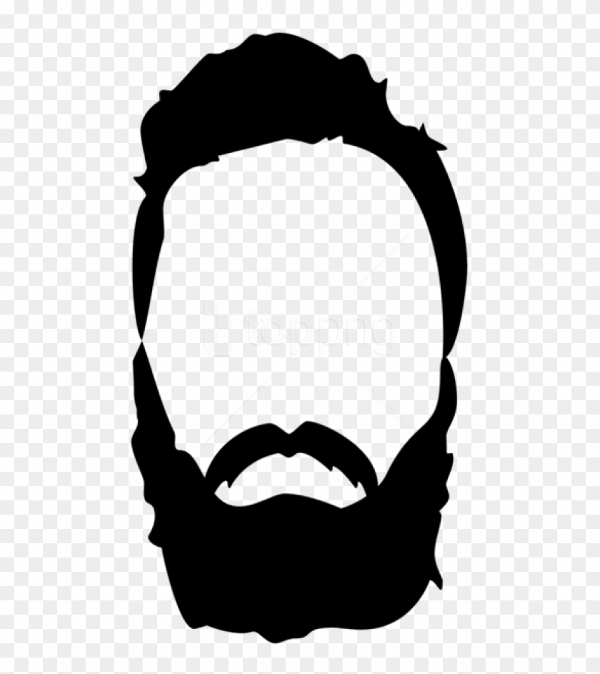 Free Png Download Hair Beard Mustache Clipart Png Photo - Mustache And Beard Clipart Transparent Png #2401128