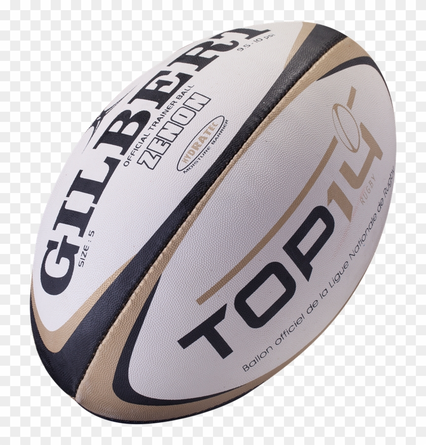 Top 14 Replica Rugby Ball - Rugby Ball Top Clipart #2401553