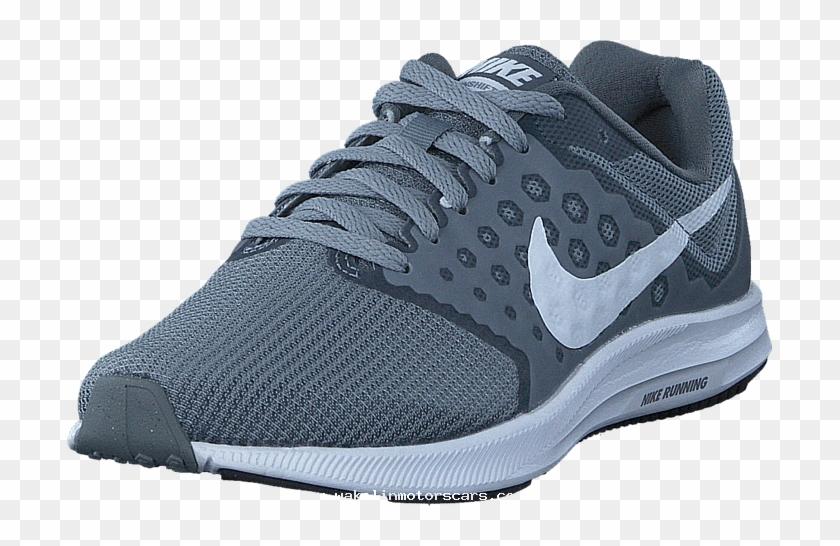 Nike Downshifter 7 Wolf Grey/white/black 60031-76 Womens - Running Shoe Clipart #2409060