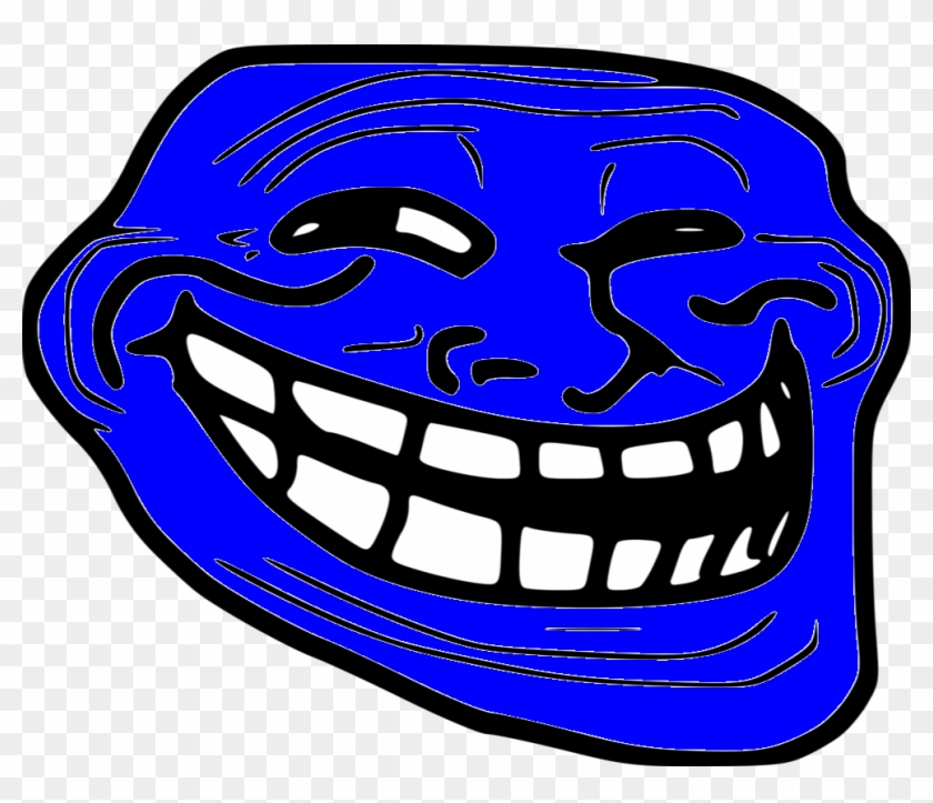 Trollface - - Laughing Meme Face Png Clipart #2410724