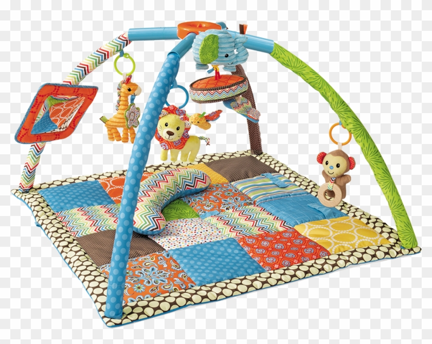 Deluxe Twist U0026 Fold Activity Gym U0026 Playmat0m - Things To Be Used For First Six Months Of Baby Clipart #2411962