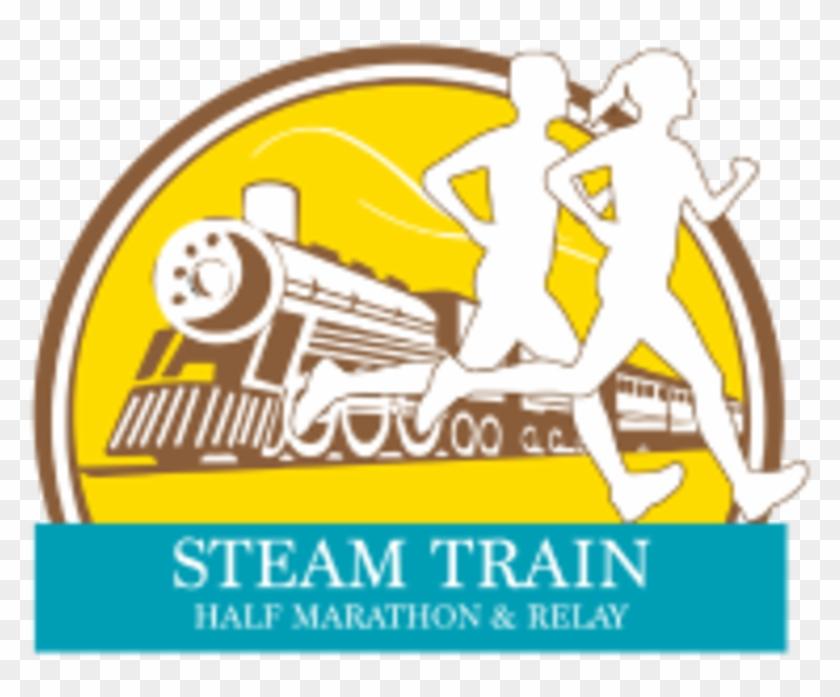 Steam Train Half Marathon & Relay - Steam Train Half Marathon & Relay Clipart #2412230