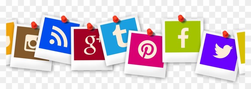 Al Med Social Media Instagram Facebook Twitter Likedin - Social Media Addiction Png Clipart #2420051
