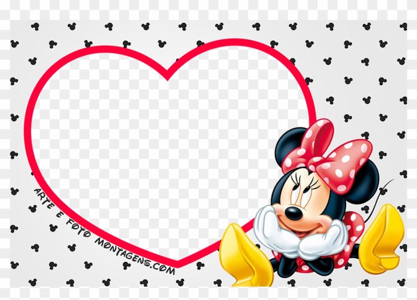 Moldura Minnie Png Moldura Minnie Vermelha Png Clipart 2420955