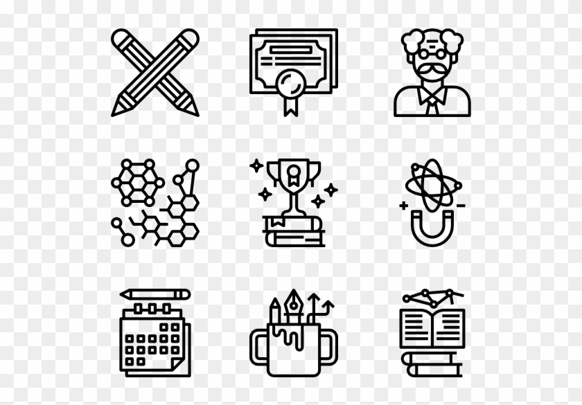 Png Transparent Book Icons Free Education Hobbies Icon Png Clipart 2429984 Pikpng