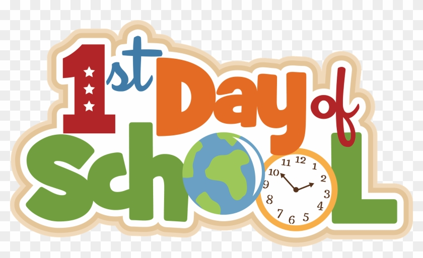 First Day Of School Clipart - First Day Of School 2019 - Png Download #2433340