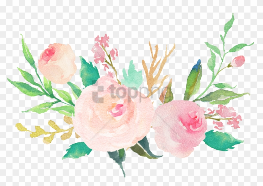 Free Png Water Color Flowers Pastel Png Image With Pastel Flower Bouquet Clipart Transparent Png 2435111 Pikpng