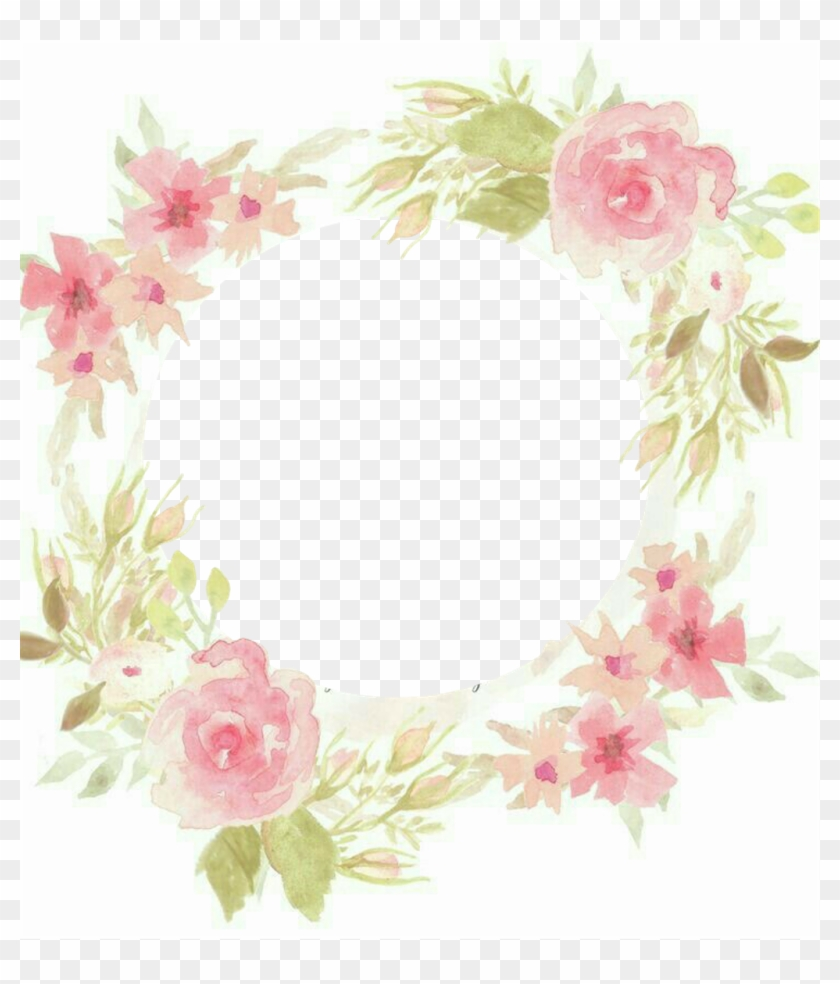 #frame #pictureframe #flowers #flores #watercolor #pastels - Try A Little Harder To Be A Little Better Clipart #2435144
