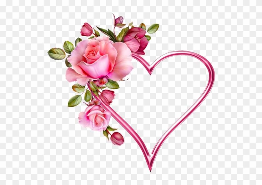Blue Rose Heart Tattoo Clipart #2436989