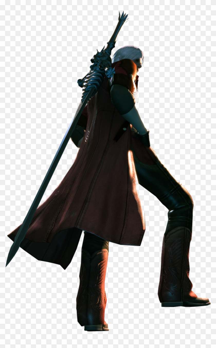 Download Png Devil May Cry 4 Dante Back Clipart 2443586