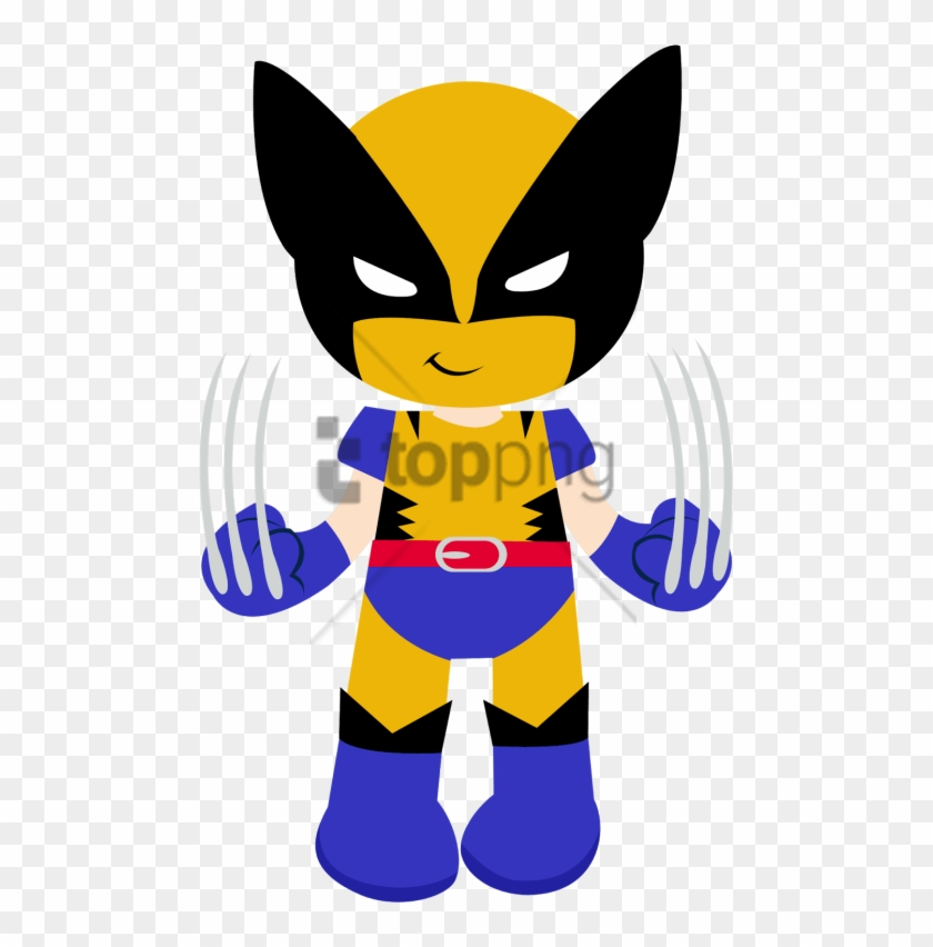 Free Png Super Herois Cute Png Image With Transparent Wolverine