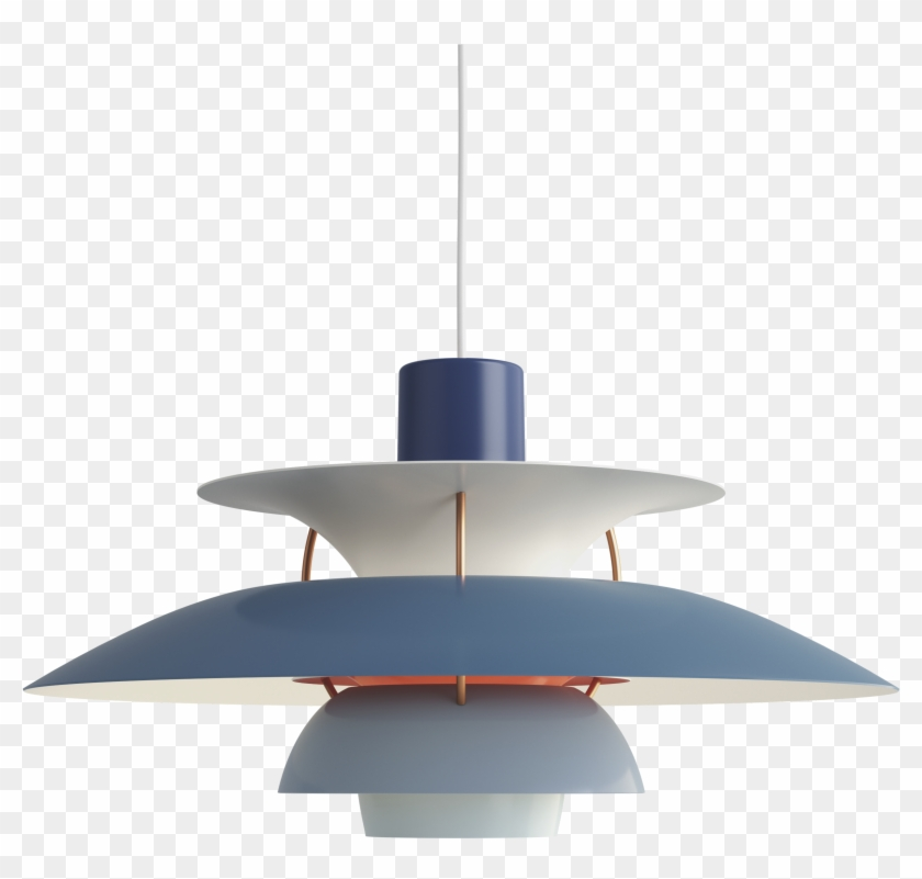 Ph 5 Lamp Blue Clipart #2446357