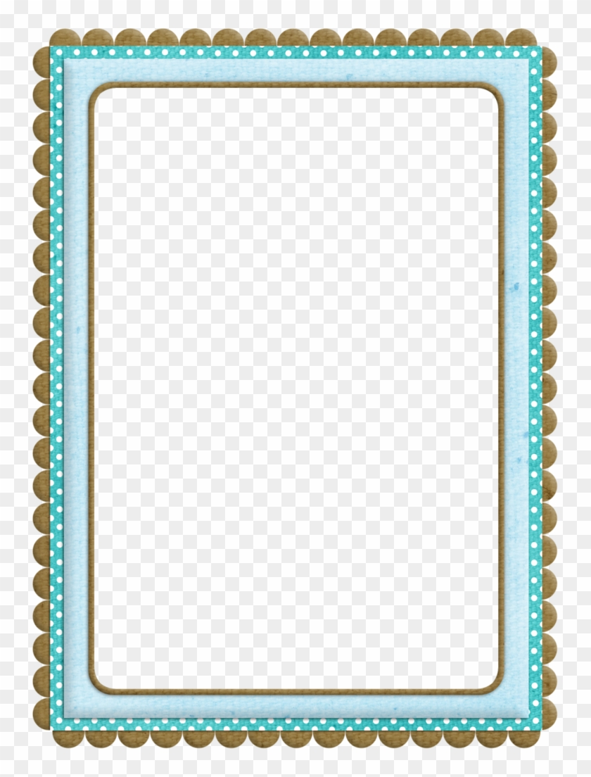 B *✿* Kit Borders For Paper, Borders And Frames, Printable - Border Clipart #2446400