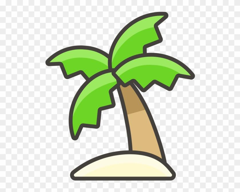 Palm Tree Emoji Icon Clipart #2446476