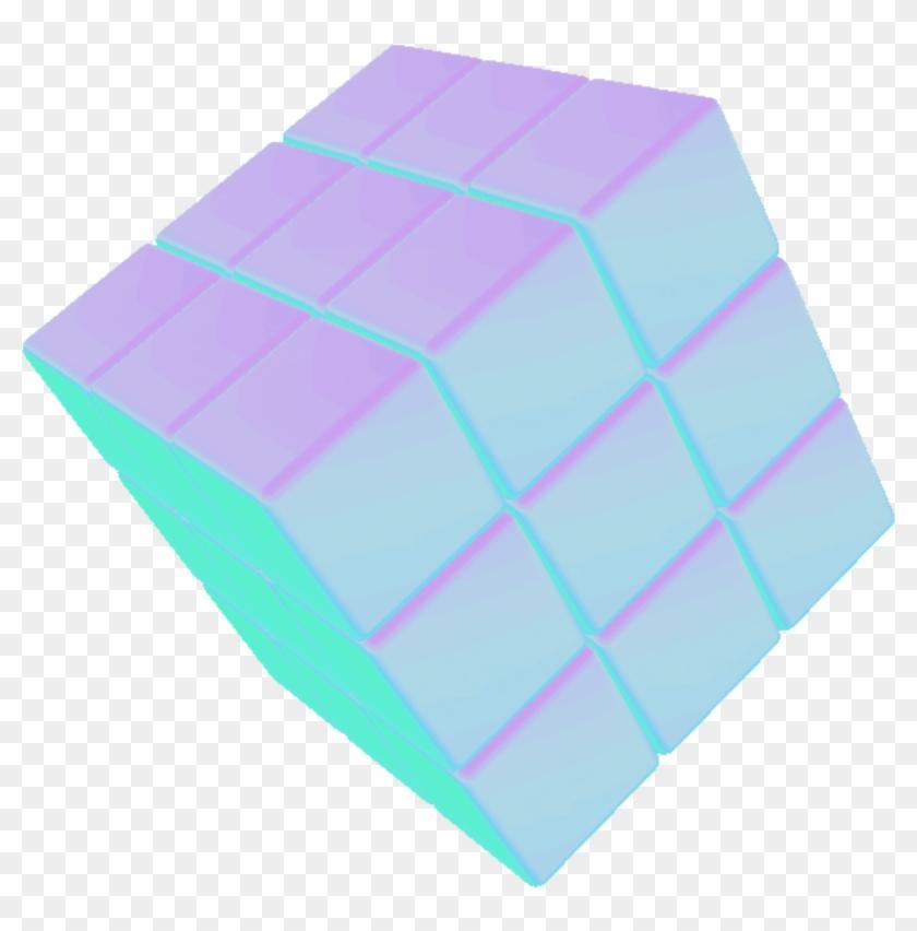 Ftestickers Cube 3d Vaporwave Tumblr Aesthetic Aesthetic