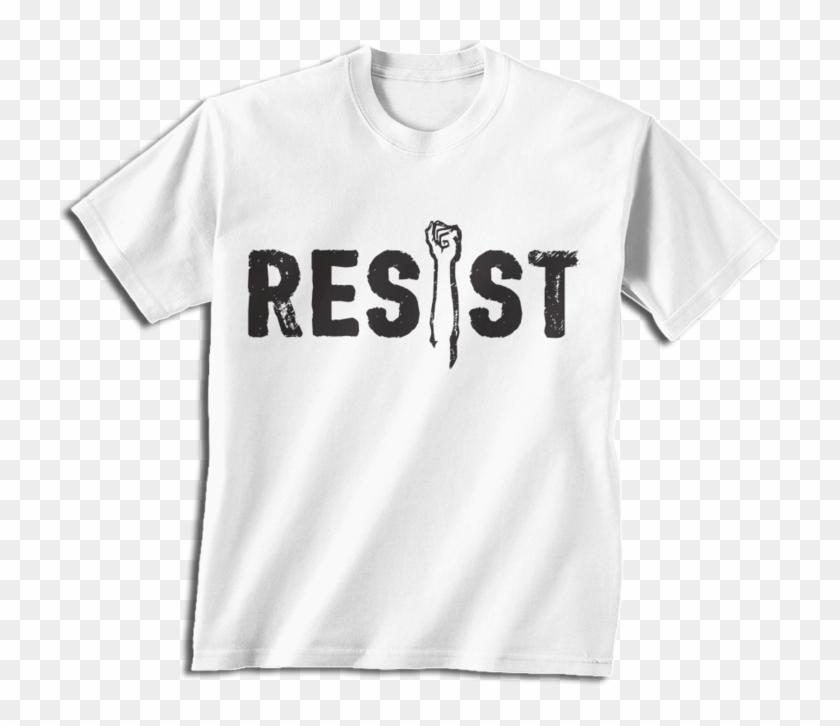 Anti Trump Power Fist T-shirt - T Shirt Design Batch Shirt Clipart #2452546