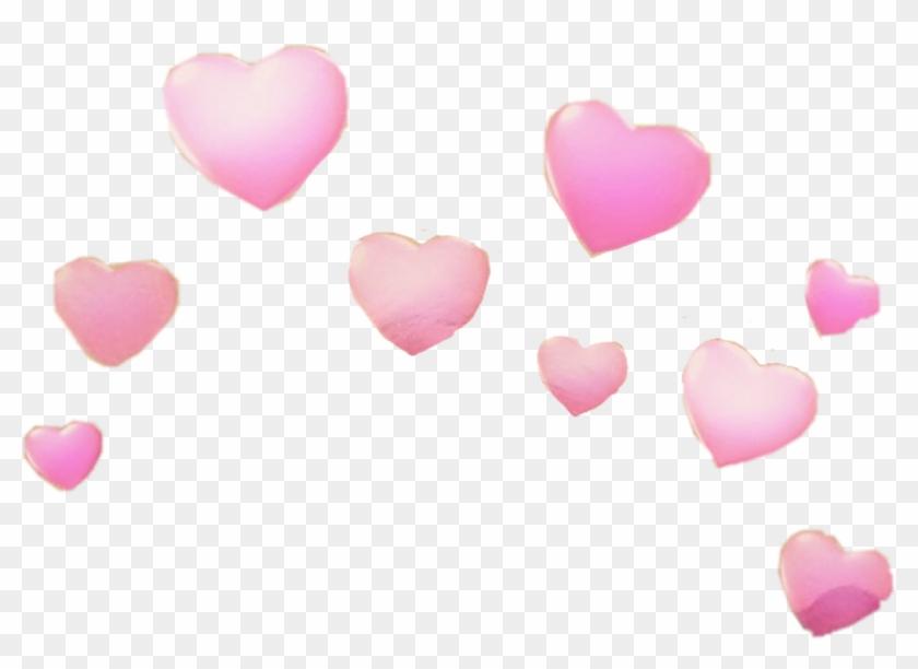 Snapchat Hearts Png Snapchat Heart Filter Png Transparent