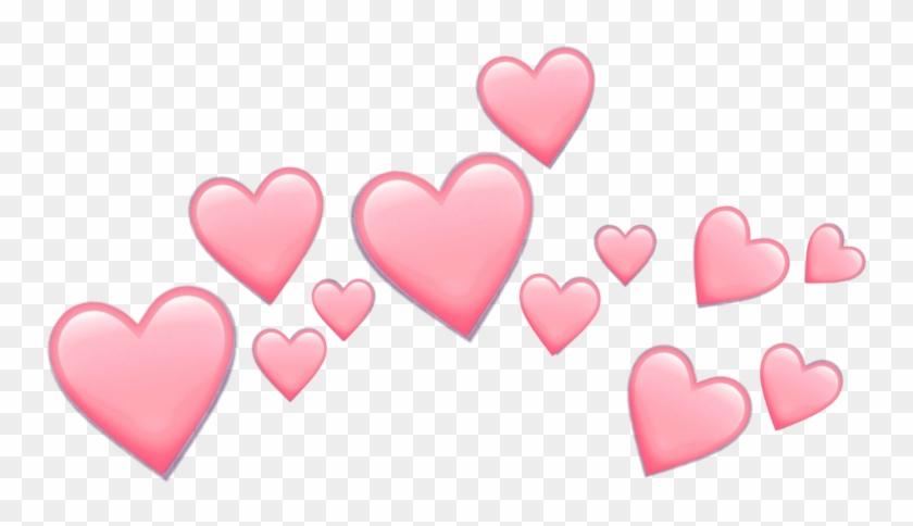 #pink #hearts #emoji #pinkemoji #heart #heartemoji - Love Hearts Emoji Png Clipart #2464099