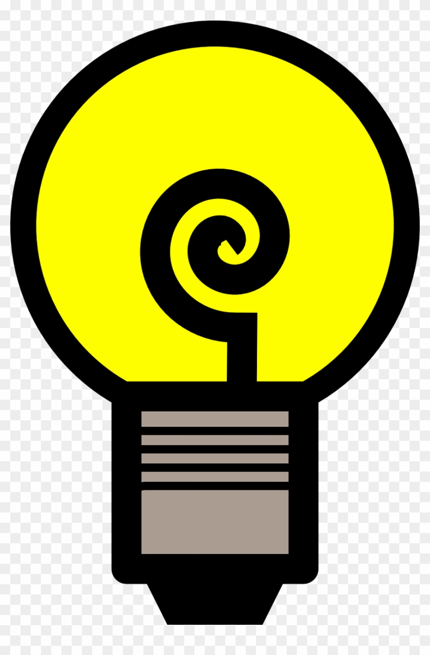 Light Bulb Electricity Idea Png Image - Gambar Bohlam Ide Clipart #2464265