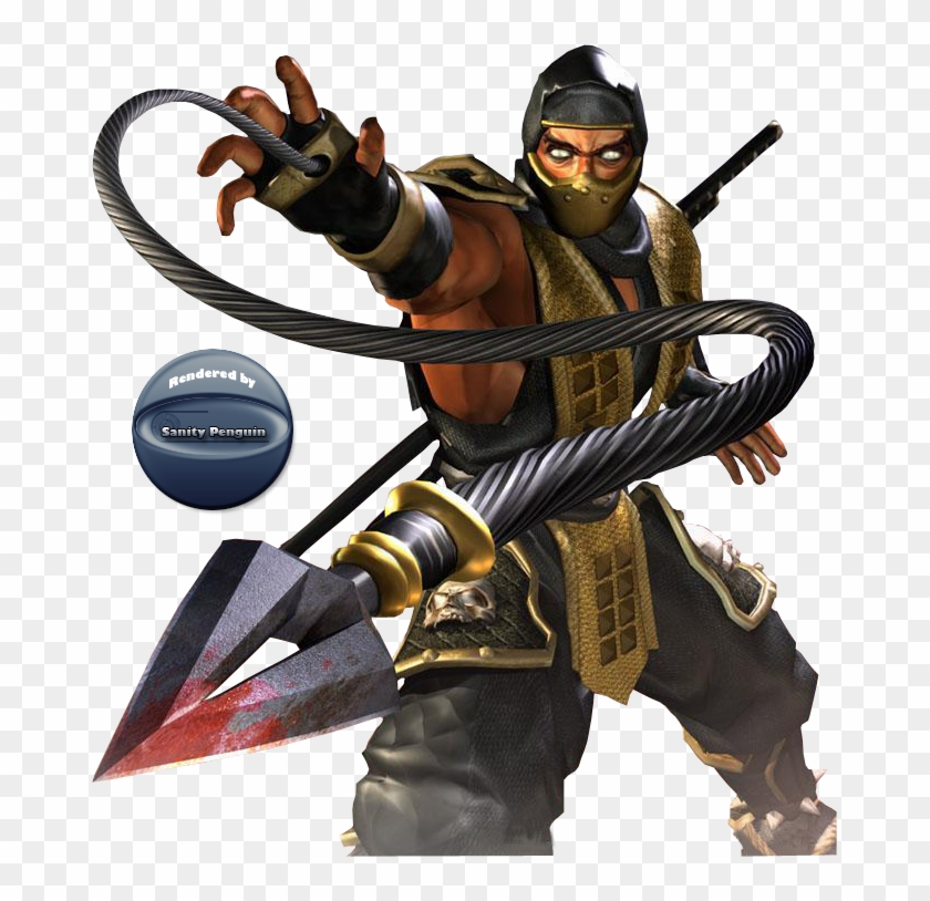 Mortal Kombat Scorpion Scorpion Mortal Kombat Get Over Here
