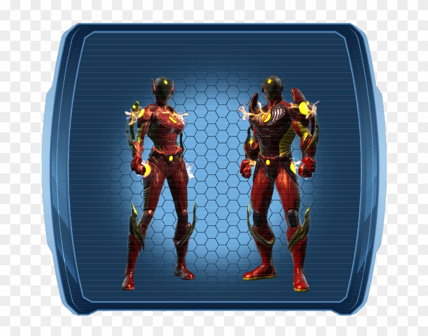 Seraph, Divine, Speed Force Spectrum, Reverse High - Dcuo Speed Force Spectrum Style Clipart #2467110
