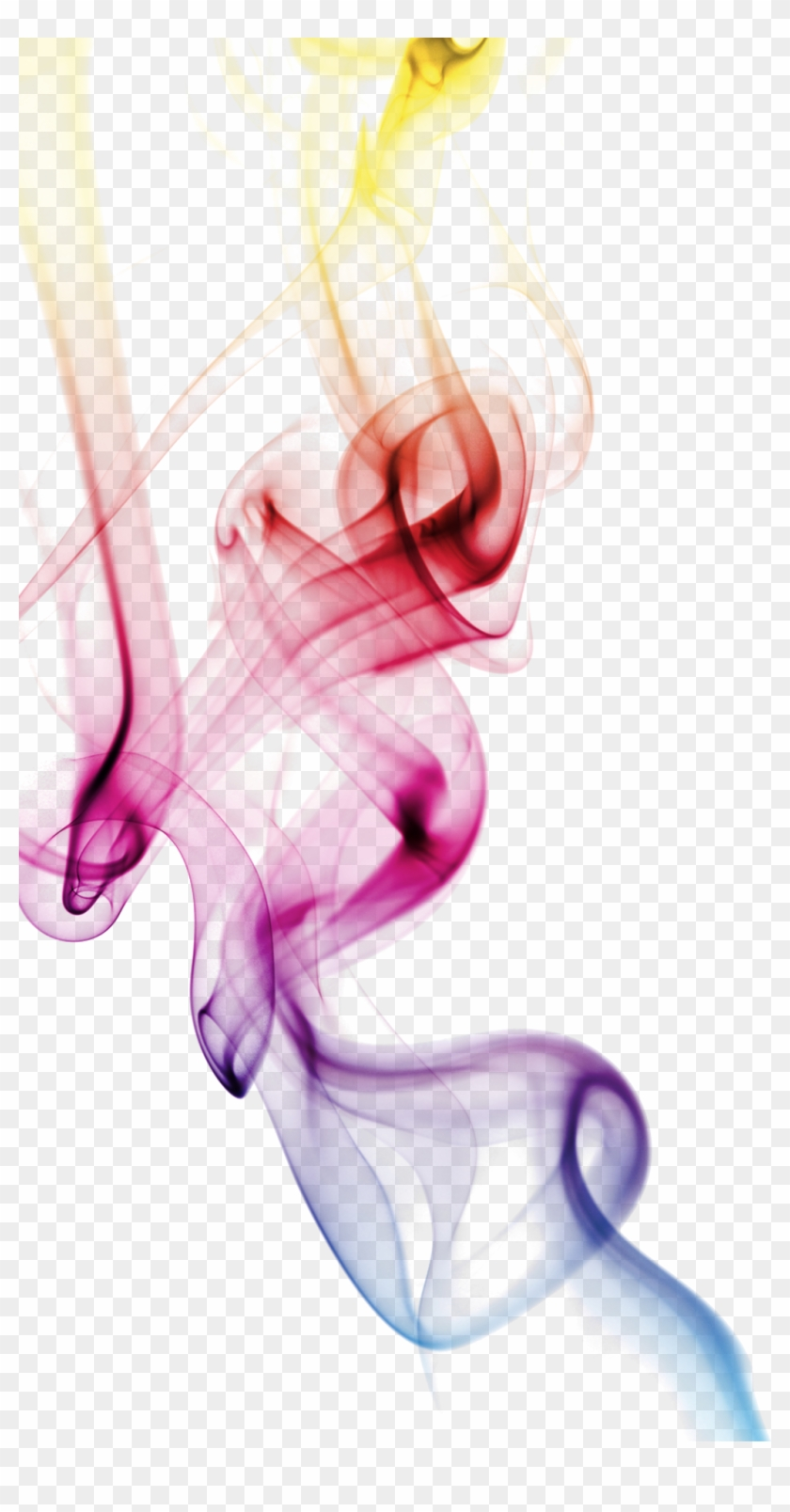#smoke #rainbow #effect #ftestickers #stickers #autocollants - Transparent Png Coloured Smoke Clipart #2469108