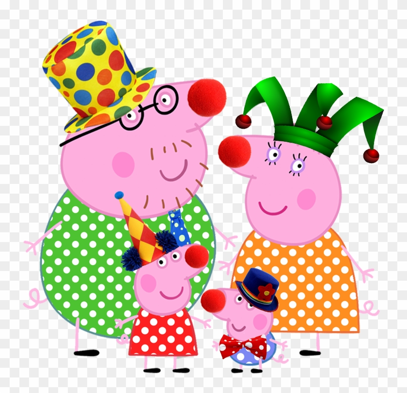 Peppa Pig Png Pack Peppa Pig Clown Clipart 2471461 Pikpng
