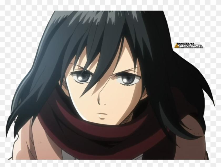 Anime Render Mikasa Ackerman Mikasa Punches Eren Gif Clipart 2482523 Pikpng