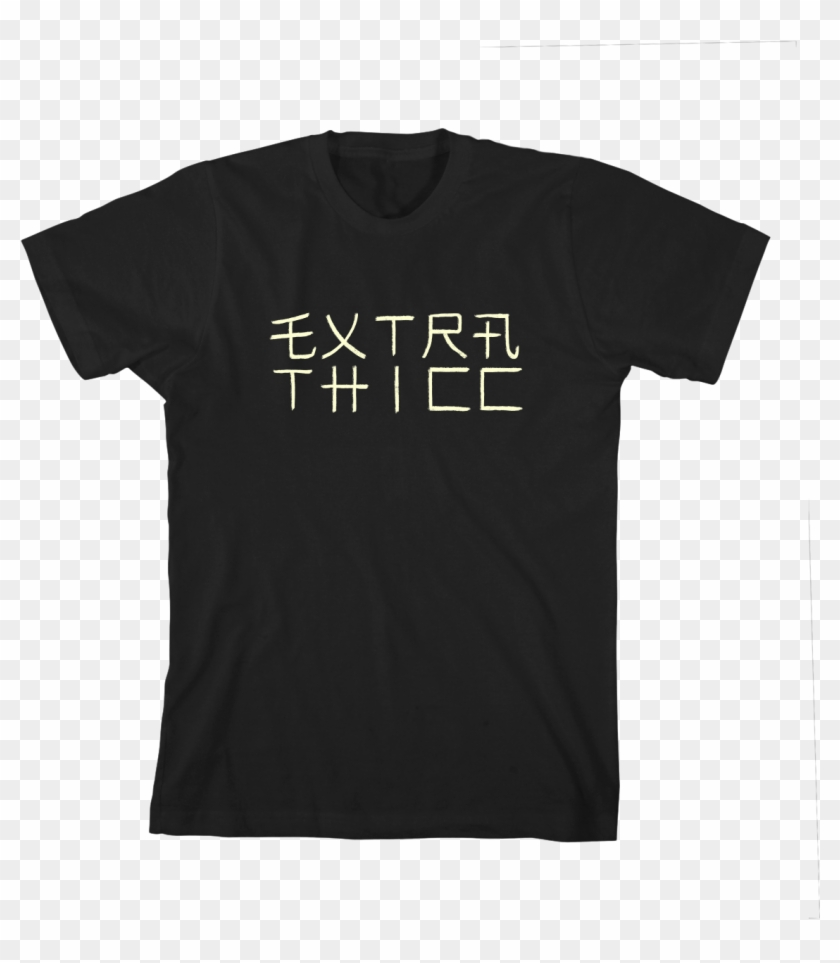 Extra Thicc T-shirt - Sub Pop T Shirt Uk Clipart #2483488