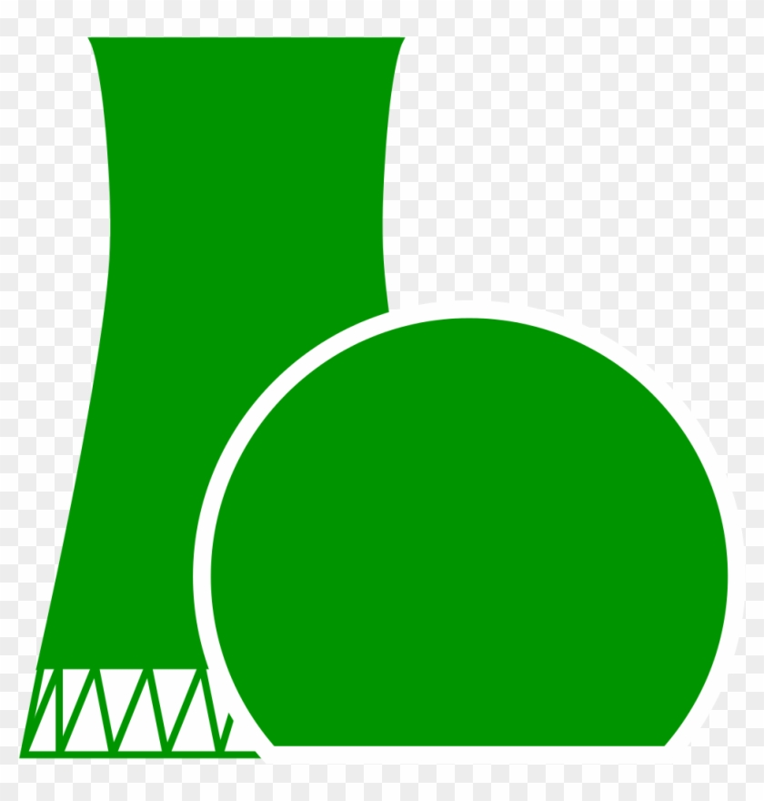 Green Radioactive Symbol Png For Kids - Nuclear Power Clipart #2484004