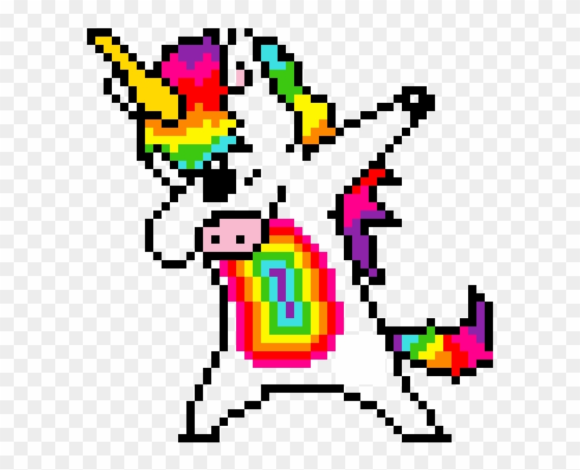 Random Image From User Pixel Art Kawaii Licorne Clipart