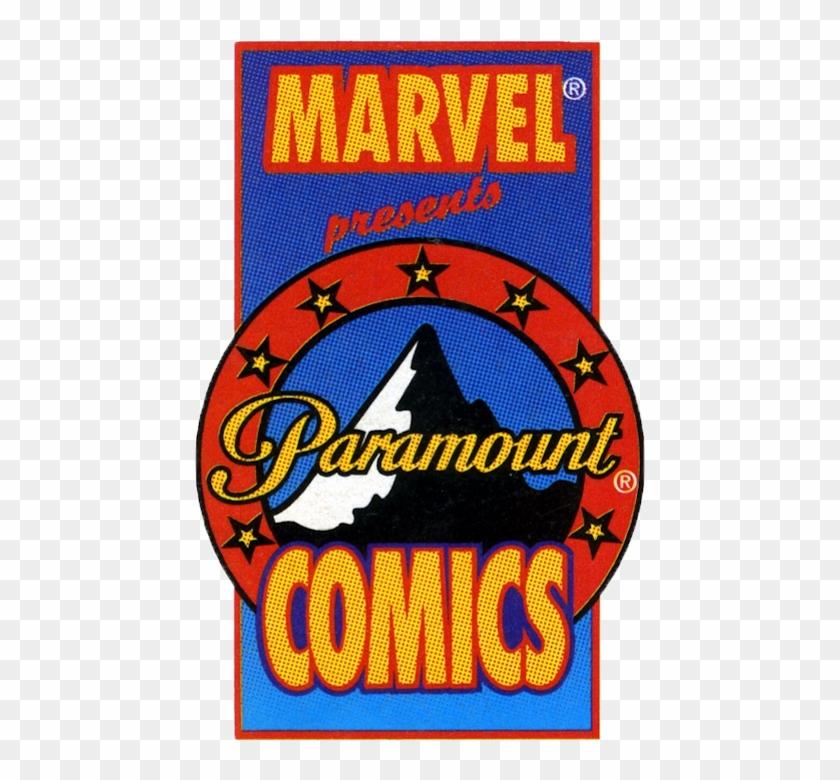 Marvel / Paramount Comics - Marvel Paramount Comics Logo Clipart #2485942