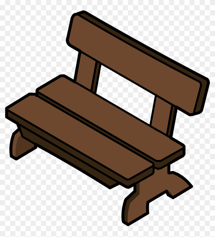 Benches Clipart Club Penguin - Club Penguin Bench - Png Download #2488517