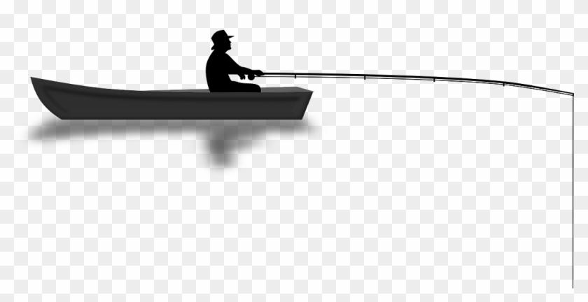 Angler Boat Fishing Water Rod Png Image Boat Fisherman Png Clipart 2490561 Pikpng