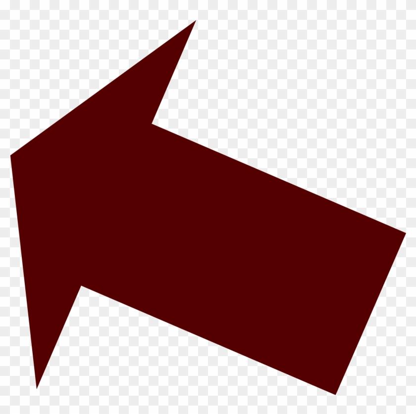 Arrow Transparent Thumbnail - Brown Arrow Clipart #2495053