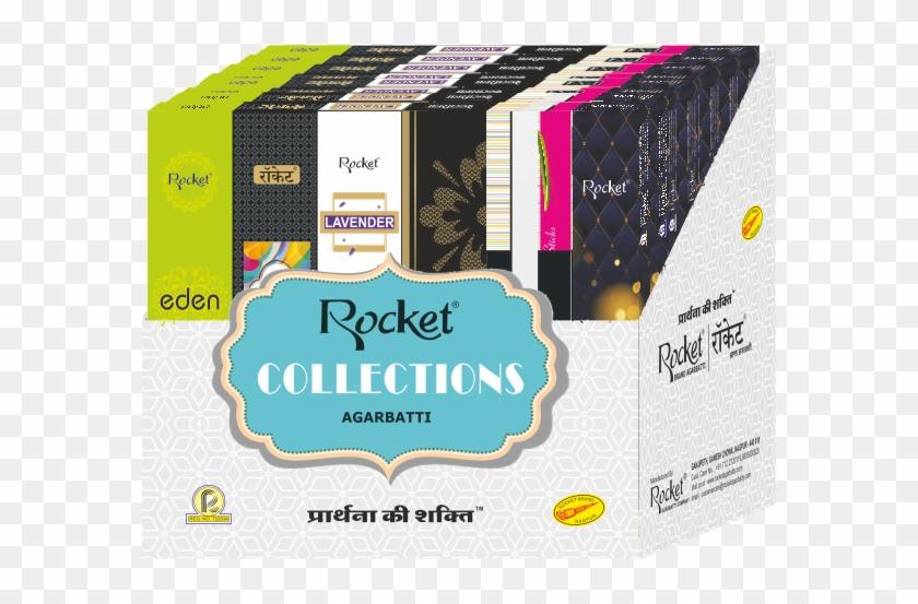 Rocket Agarbatti Presents The Aromatic Incense Sticks - Rocket Agarbatti Clipart #250682