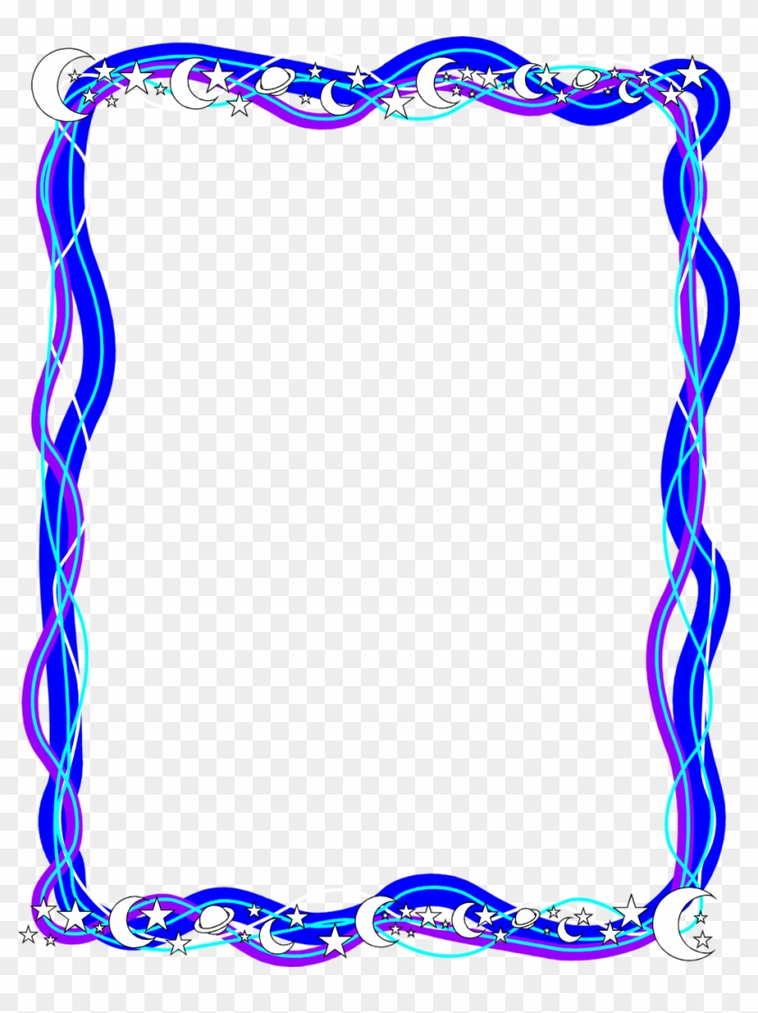 Science Clipart Border Design - Frames And Borders - Png Download #250958