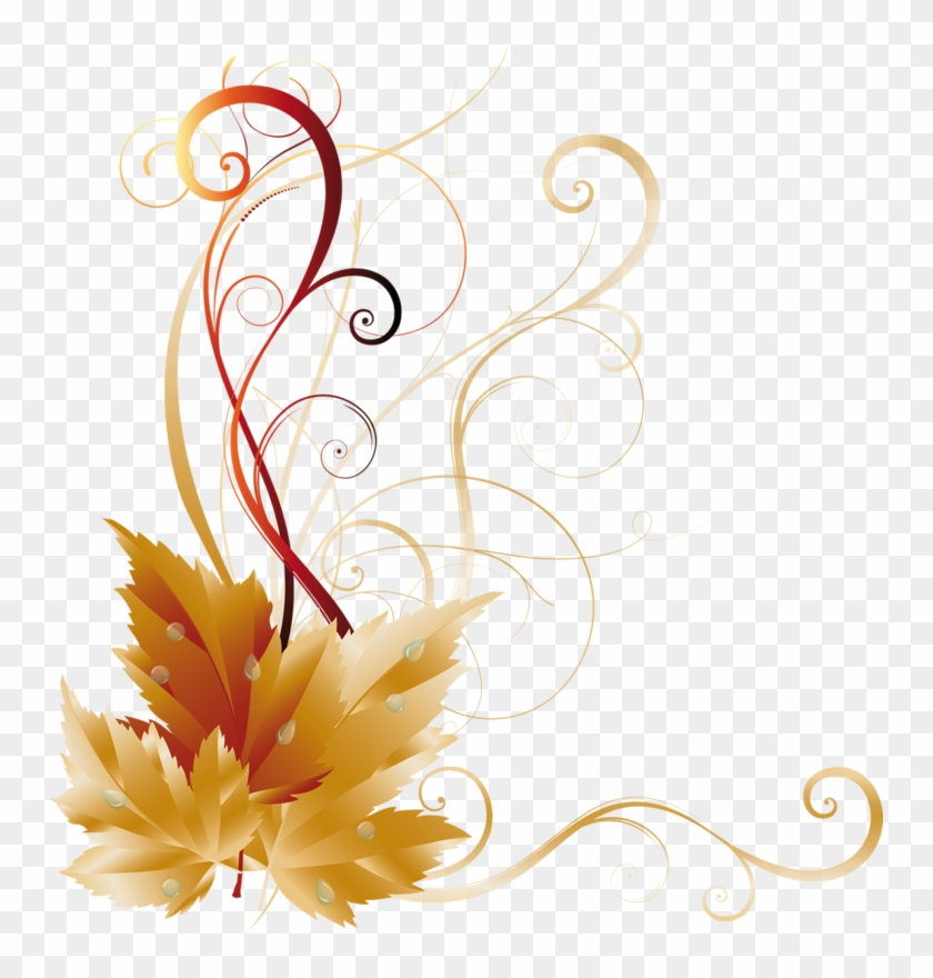 Page 13 Corner Designs Fall Leaves Borders And Frames Side Border Design Png Clipart 250982 Pikpng