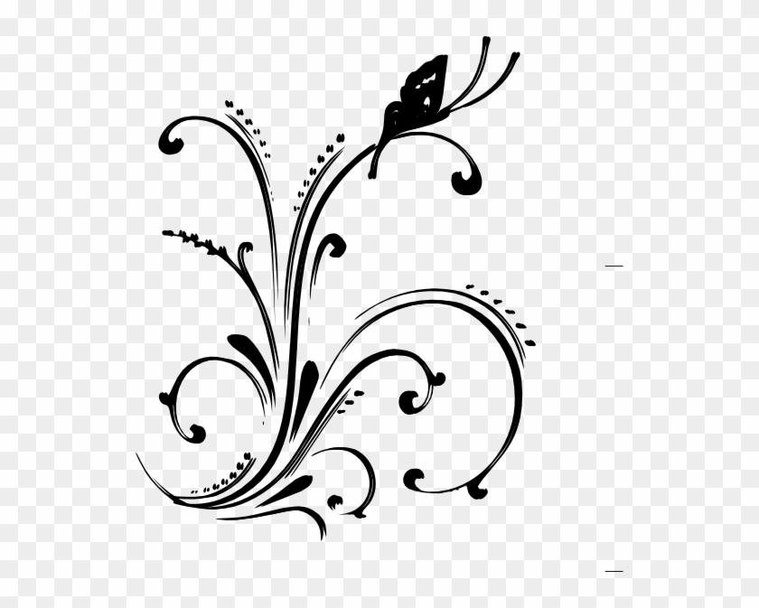 540 X 593 6 - Wedding Border Design Png Clipart #252788