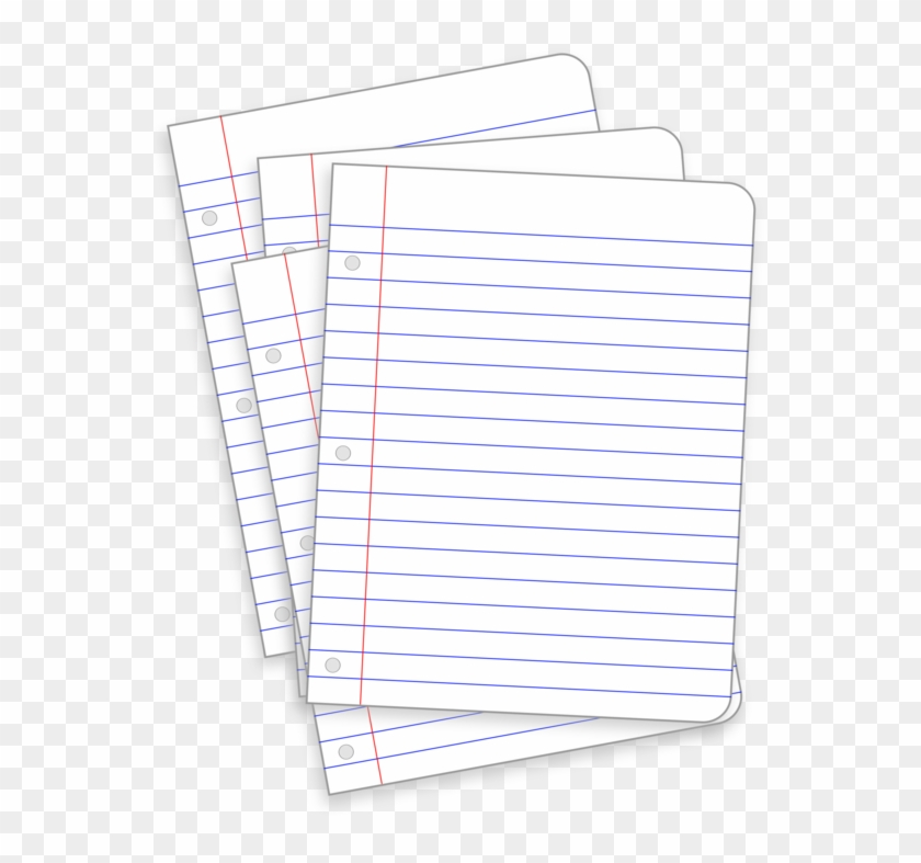 Ruled Paper Notebook Loose Leaf Post It Note Animasi Alat Tulis