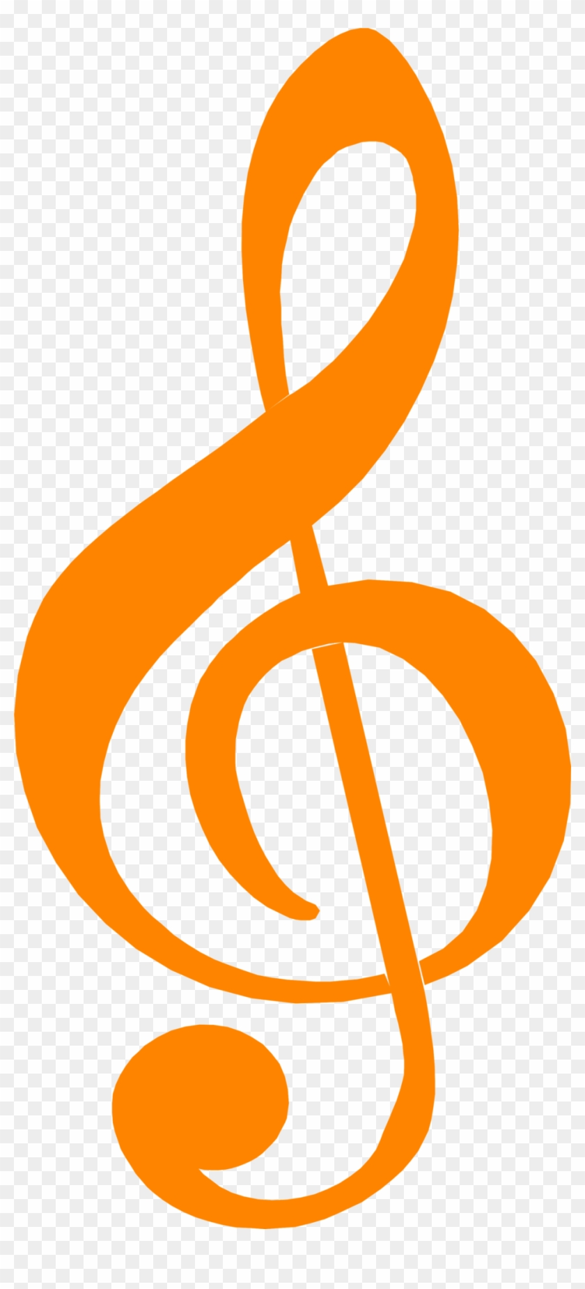 Music Notes Clipart G Clef Notes - Music Symbols - Png Download #253880