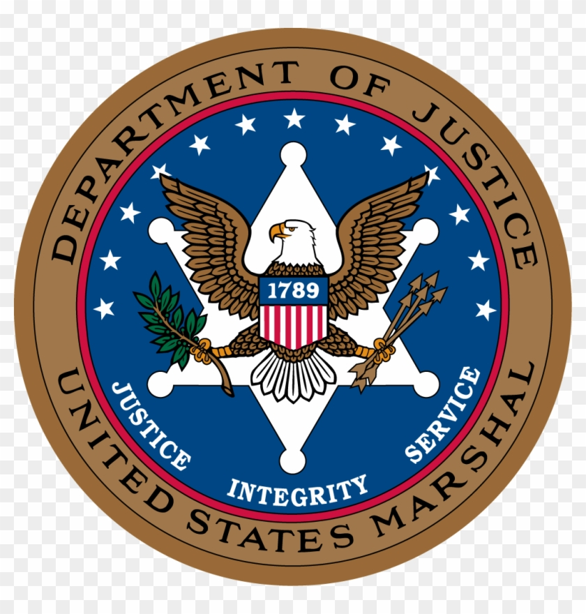 Seal Of The United States Marshals Service - Us Marshals Service Clipart #255916