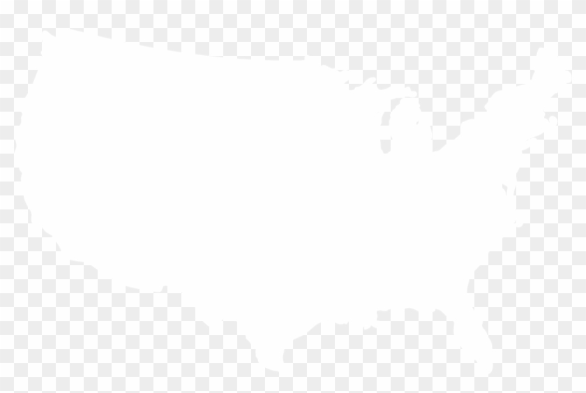 United States Silhouette Png - United States Silhouette Transparent Clipart #256550
