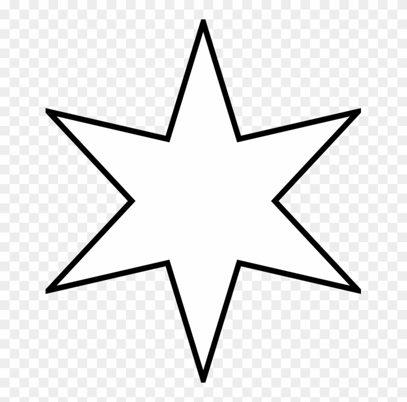 Five-pointed Star Coloring Book Shape Outline - Colouring Page Of Star Clipart #258429