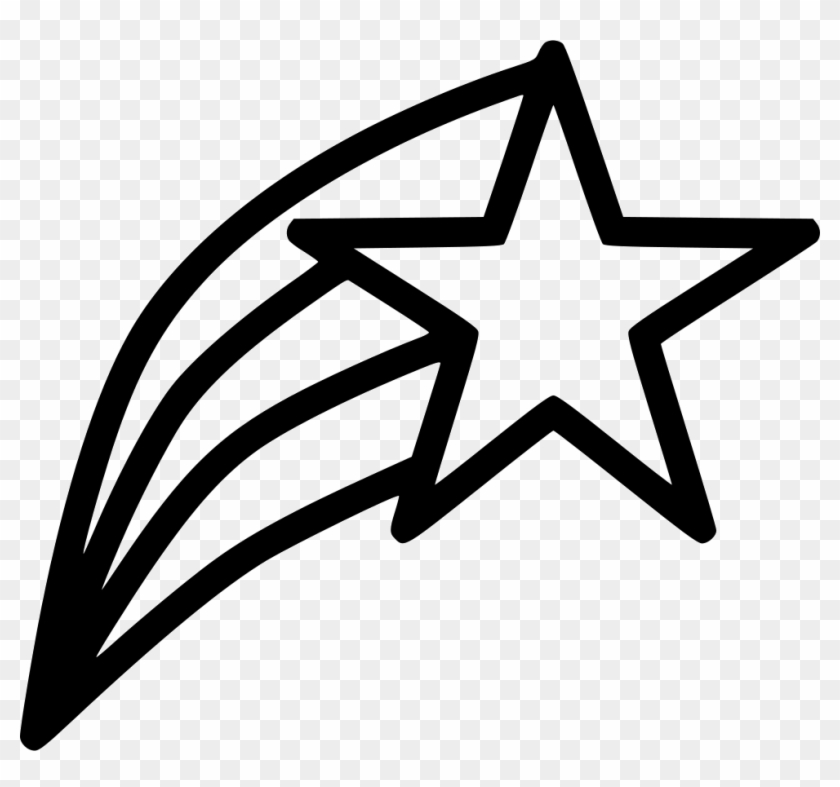 Star Christmas Shine - Star Outline Vector Png Clipart #258664
