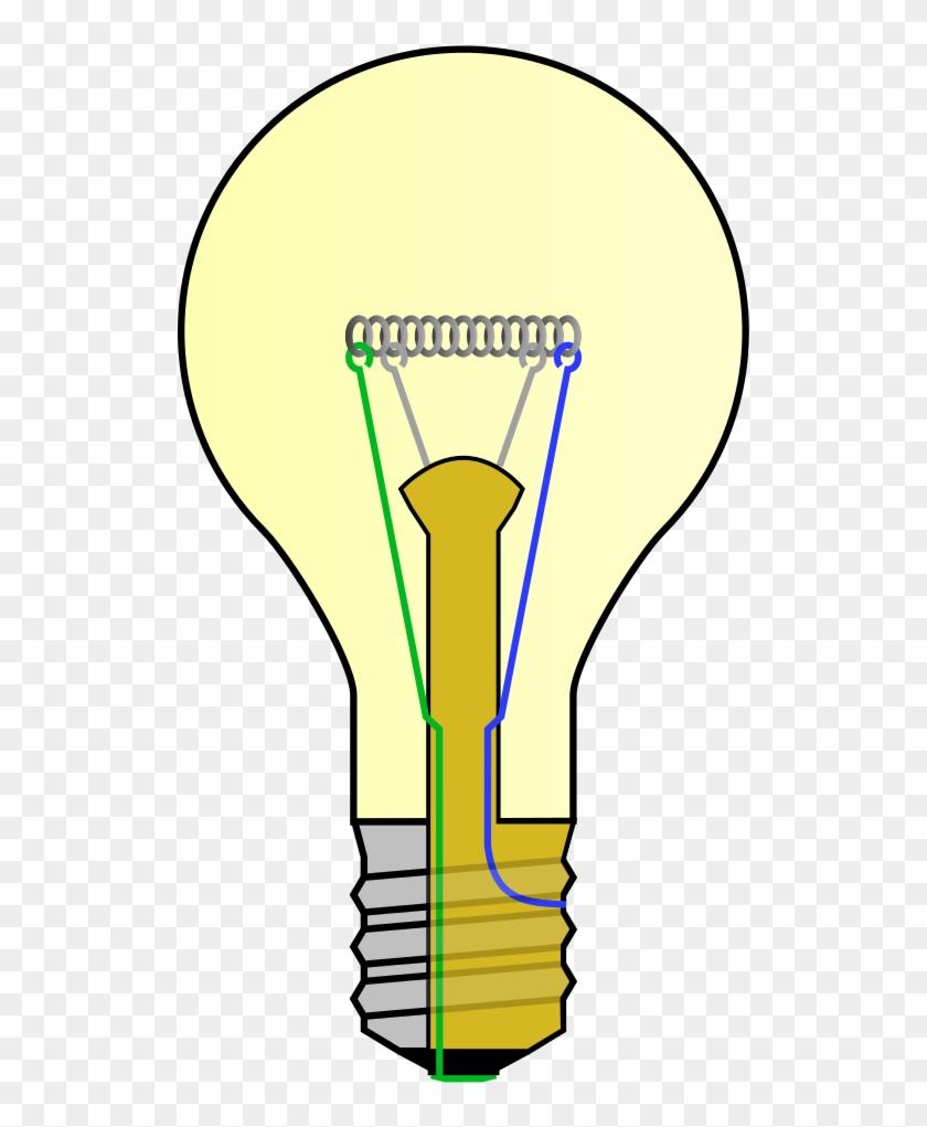 Incandescent Light Bulb Clipart #2505262