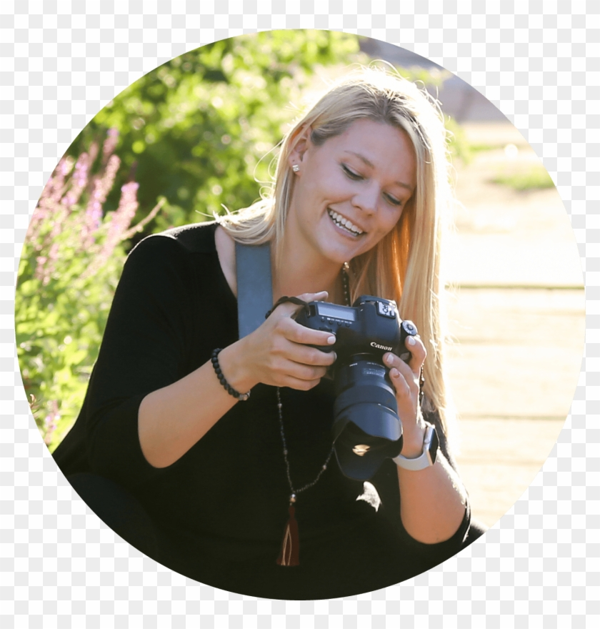 'a Photographer Who's Not Just At Your Day, But In - Digital Slr Clipart #2521823